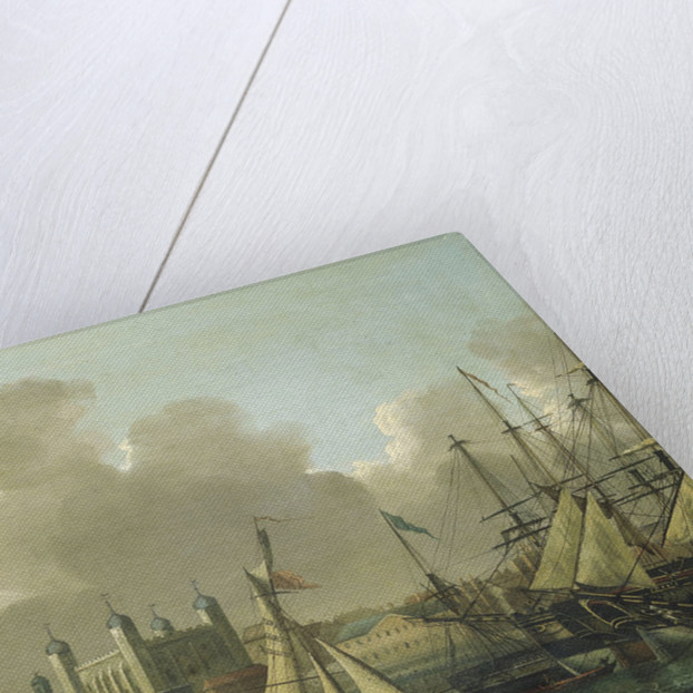 Shipping in the Pool of London by Robert Dodd