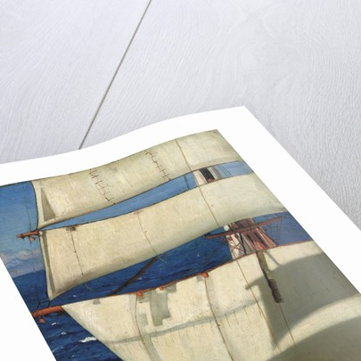 Mainmast sails by Herbert Barnard John Everett