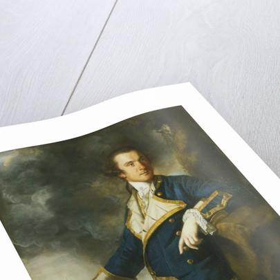 Admiral Alexander Hood, 1st Viscount Bridport (1727-1814) by Joshua Reynolds