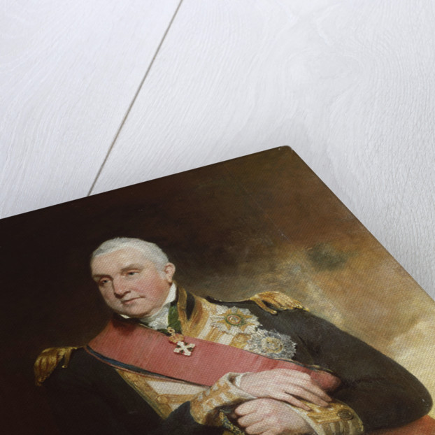 Admiral Edward Pellew, 1st Viscount Exmouth (1757-1833) by William Owen