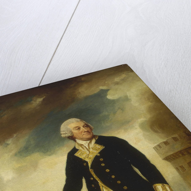 Admiral Sir Francis Geary (1709/10-1796) by George Romney