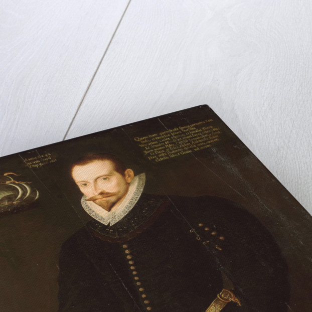 Sir James Lancaster (1554/5-1618) by unknown