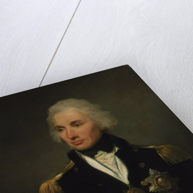 Vice-Admiral Horatio Nelson, 1st Viscount Nelson (1758-1805) by Lemuel Francis Abbott