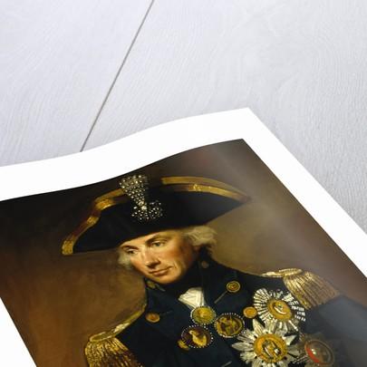 Rear-Admiral Horatio Nelson, 1st Viscount Nelson (1758-1805) by Lemuel Francis Abbott