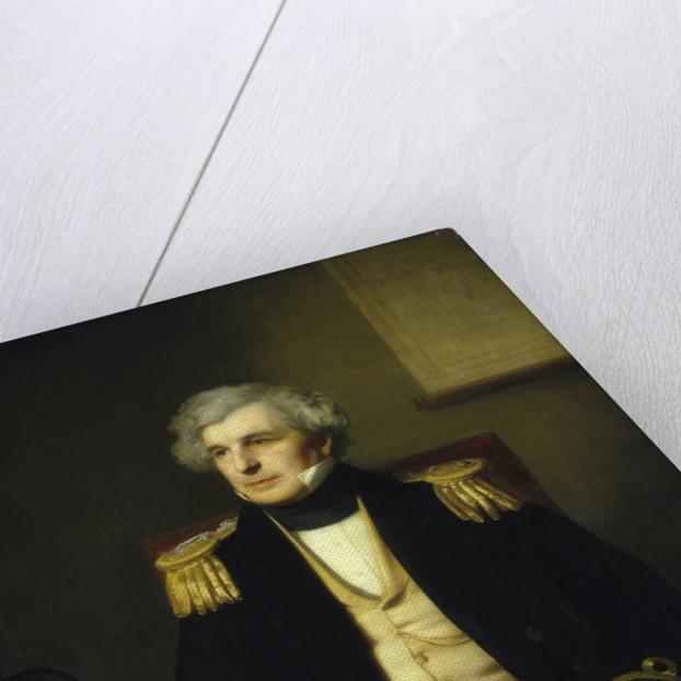 Captain Sir James Clark Ross (1800-1862) by Stephen Pearce