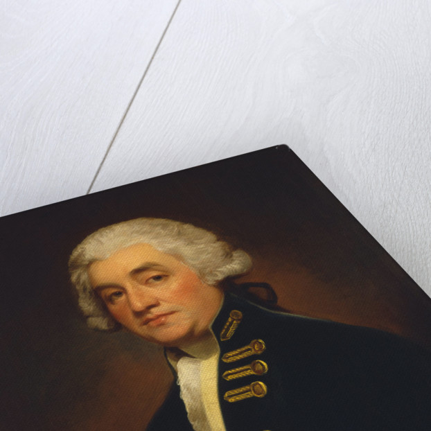 Vice-Admiral Sir Joshua Rowley (1734-1790) by George Romney