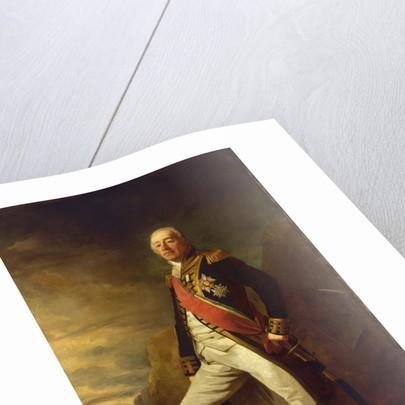 Vice-Admiral James Saumarez (1757-1836) by Edwin Williams