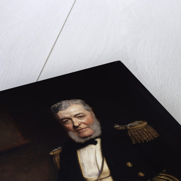 Admiral John Lort Stokes (1812-1885) by Stephen Pearce