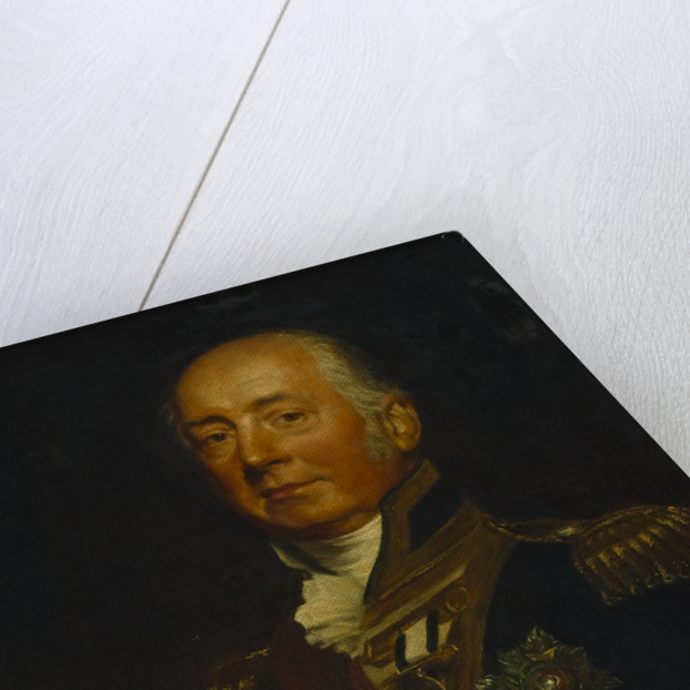Vice-Admiral Sir James de Saumarez, 1st Baron de Saumarez (1757-1836) by Samuel Lane