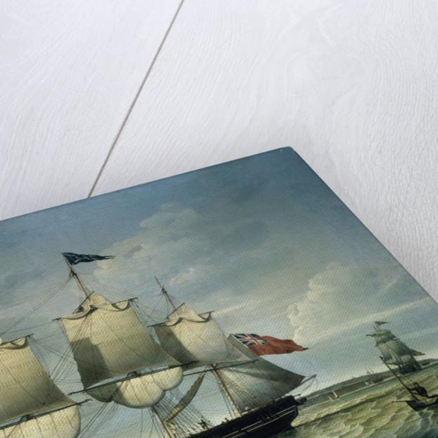 The 'Ann' off Birkenhead by Robert Salmon