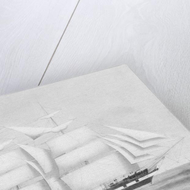 The ship 'Corona' by British School