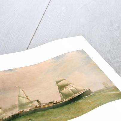 The steamship 'Dorunda' by William Clark
