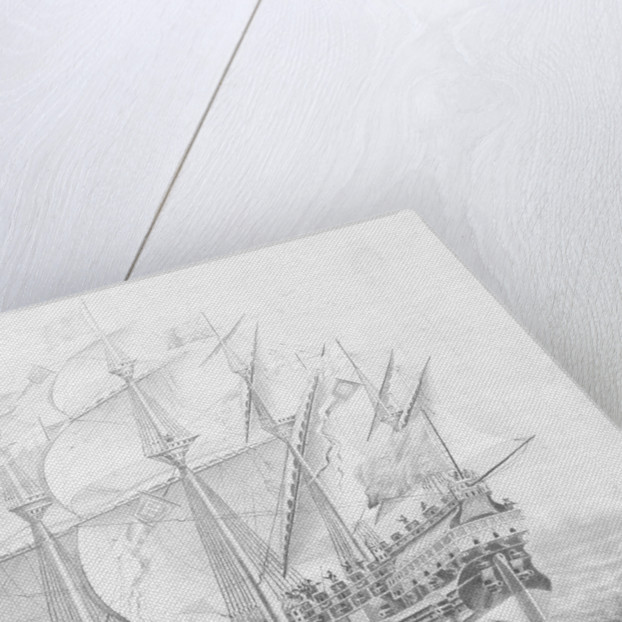 HMS 'Great Harry' by British School