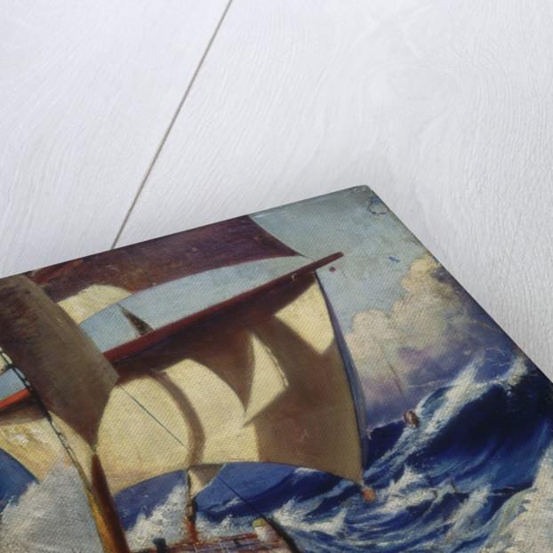 A deck scene by Herbert Barnard John Everett