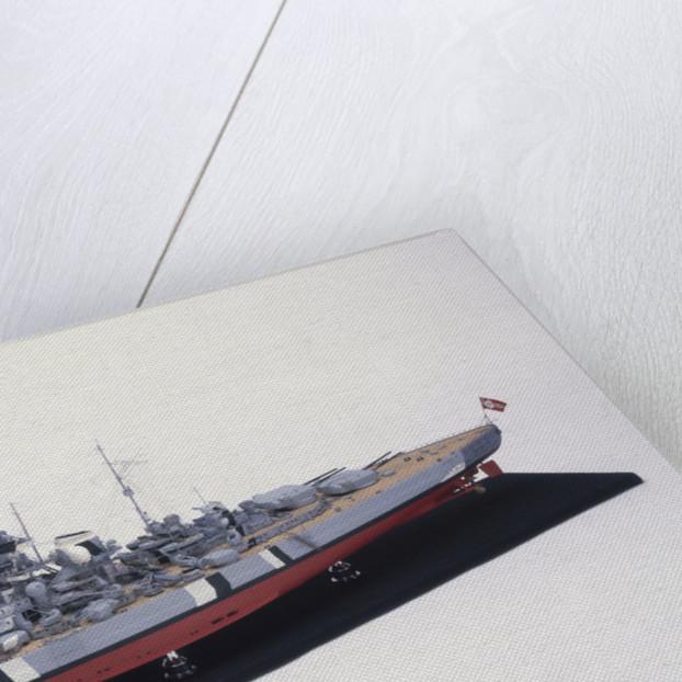 'Bismarck' (Ge, 1939) by H.G. Sitford