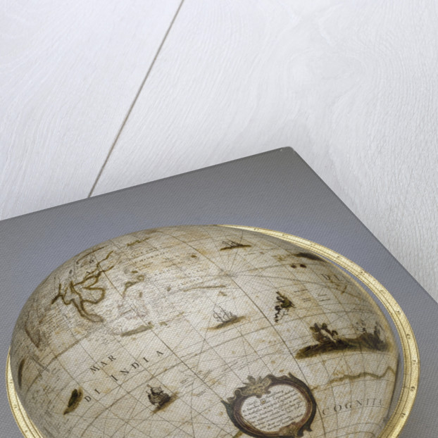 Terrestrial globe by Jacob Aertsz Colom