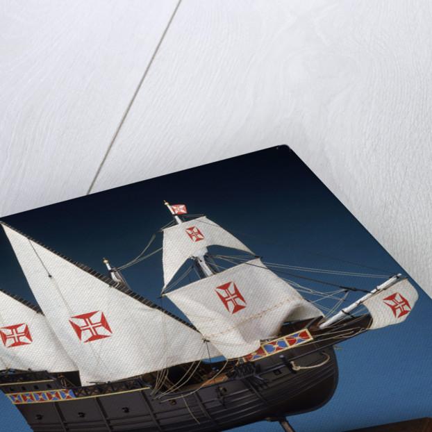 Portuguese Caravel by Museu de Marinha