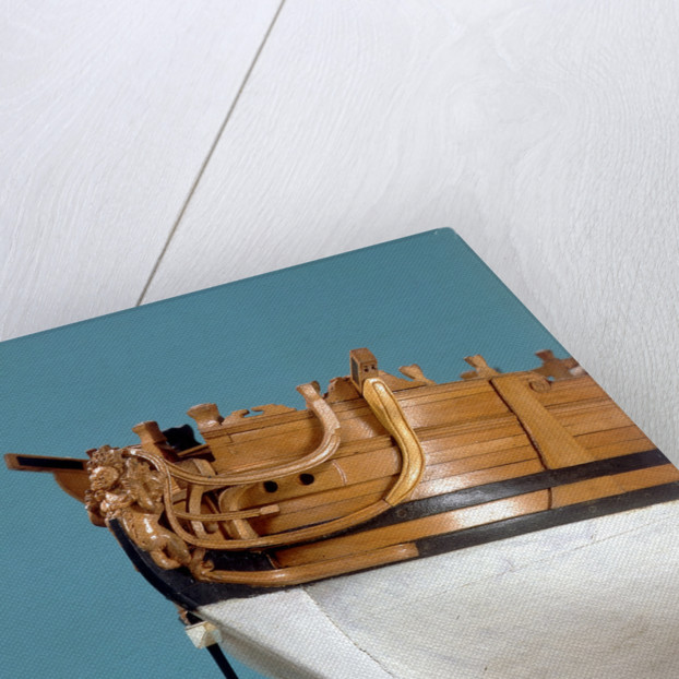 'Queenborough', figurehead and anchor by unknown