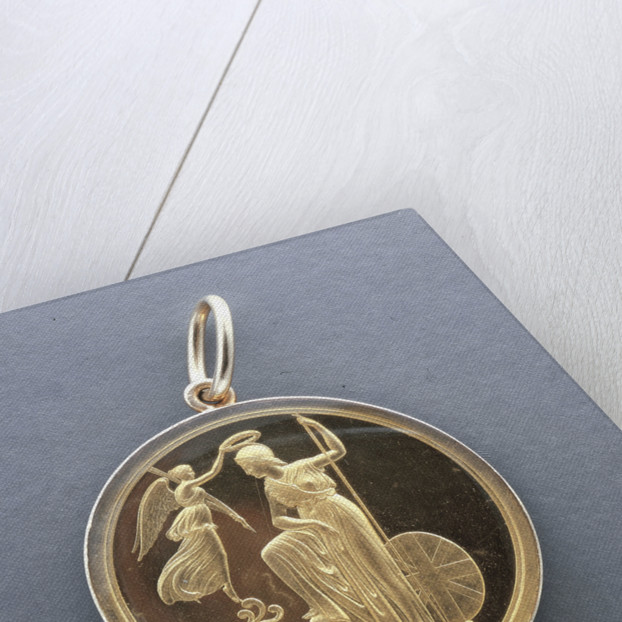 Naval Gold Medal (Flag Officer's) for The Battle of Trafalgar, 1805, obverse by Lewis Pingo