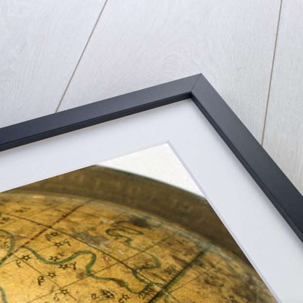 Cartouche above Virgo by John Cary
