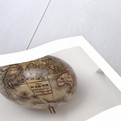 Inscription in Indian Ocean by Johann Georg Klinger