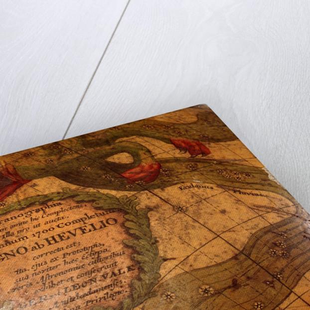 Cartouche below Cetus by Gerard Valk