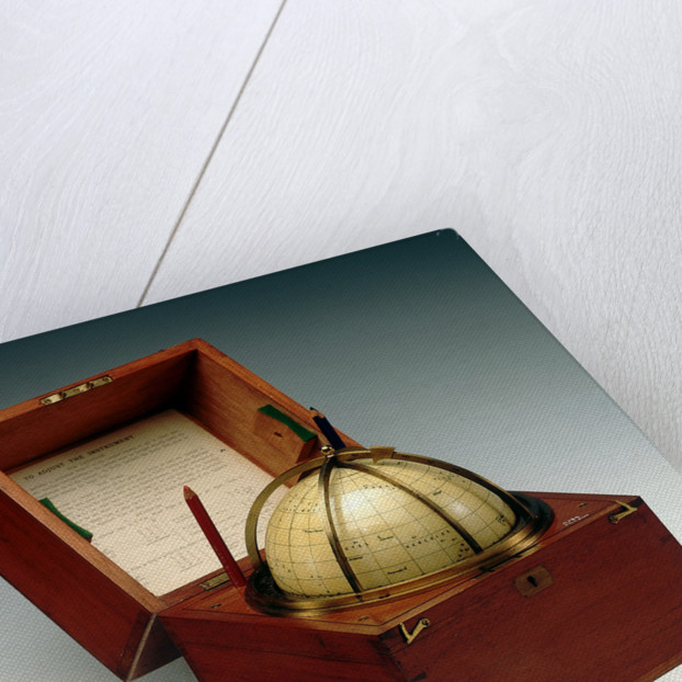 Sphere and box by Cary & Co