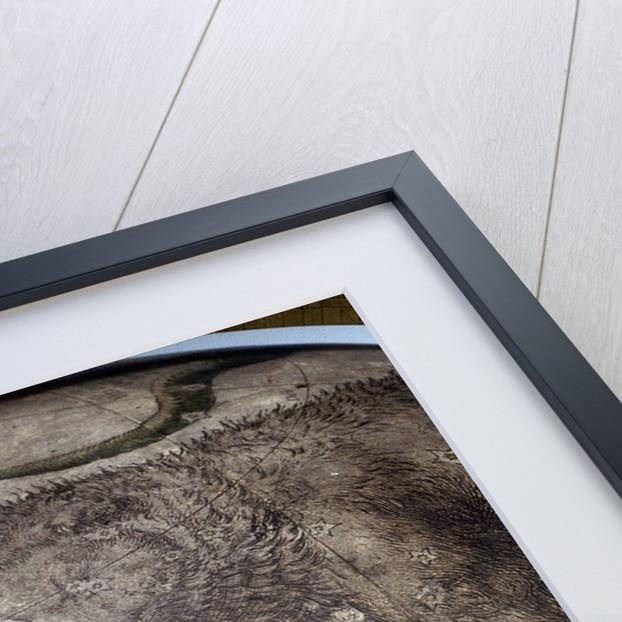 Title above Gemini by Willem Jansz Blaeu