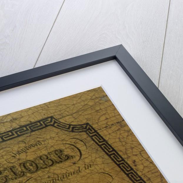 Cartouche above Pegasus by Newton Son & Berry