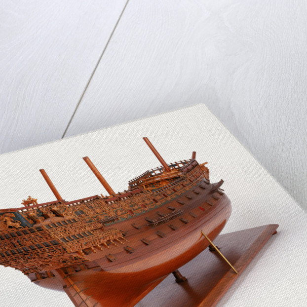 Model of 100-gun 'Sovereign of the Seas' (1637) by unknown