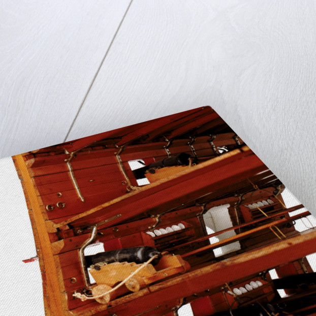 Midship sectional model of HMS 'Queen' (1839), a 110-gun first rate ship by unknown