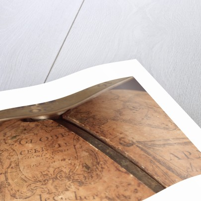 Cartouche above Gemini by Jean Baptiste Cattin