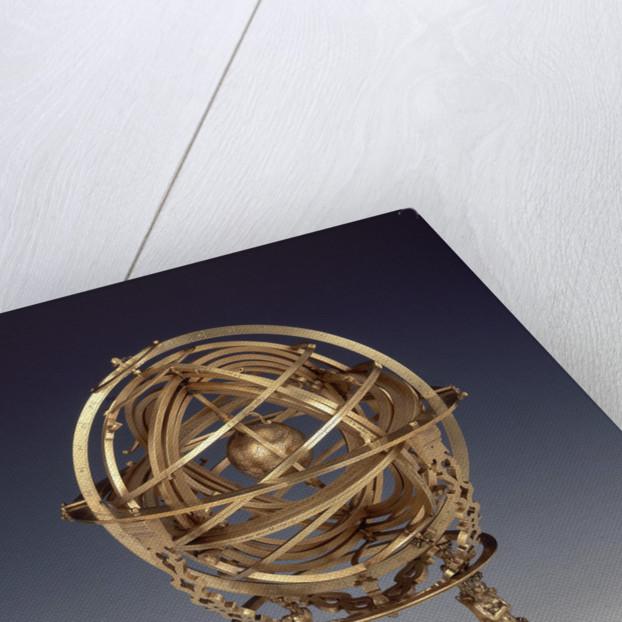Armillary sphere by Gualterus Arsenius