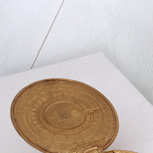 Astronomical compendium, leaves Va and IVb by Humphrey Cole