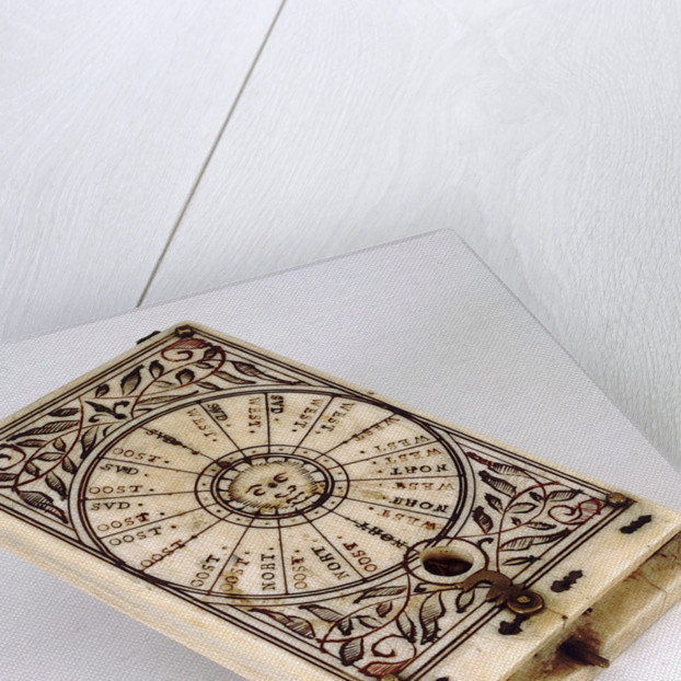 Diptych dial, leaf Ia by Lienhart Miller