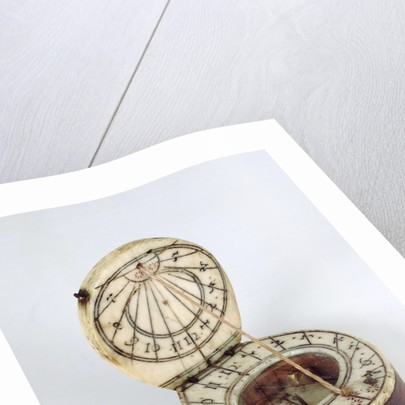 Diptych dial, leaves Ib and IIa by Lienhart Miller