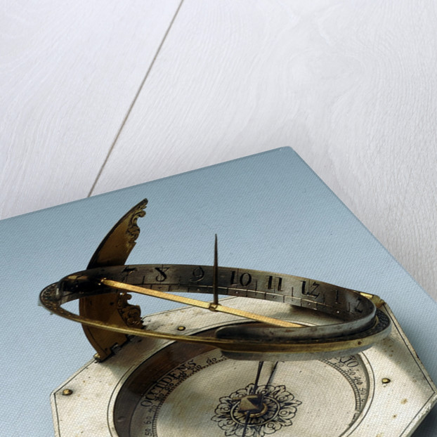 Augsburg dial by Johann Martin Willebrand