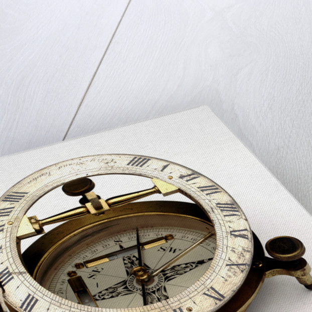 Equinoctial dial by Cary