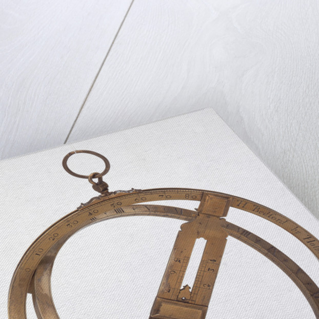 Universal equinoctial ring dial by Hilkiah Bedford