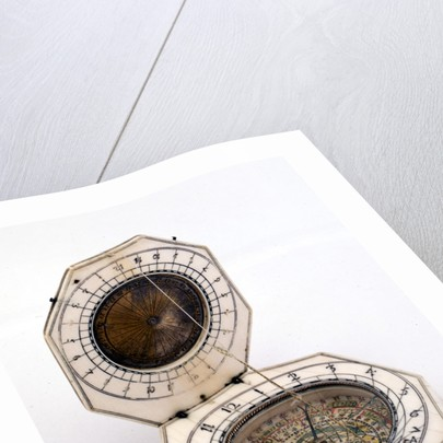 Diptych dial, leaves Ib and IIa by Charles Bloud