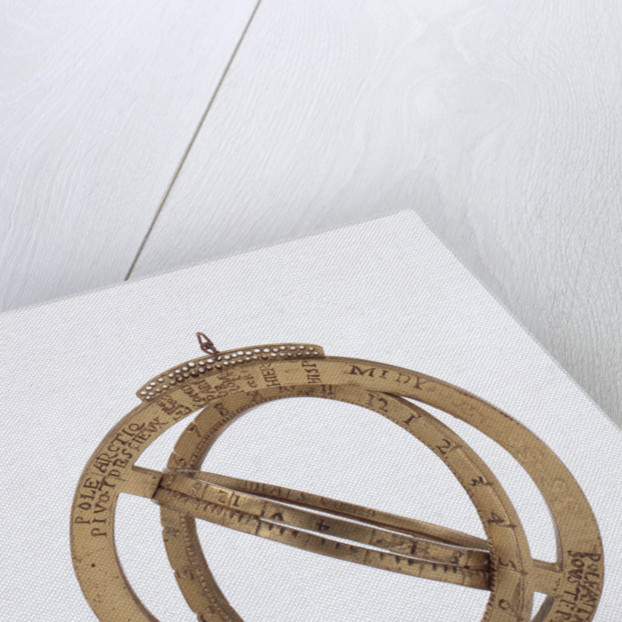 Universal equinoctial ring dial by unknown