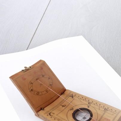 Diptych dial, leaves Ib and IIa by Wang Yang-Qi
