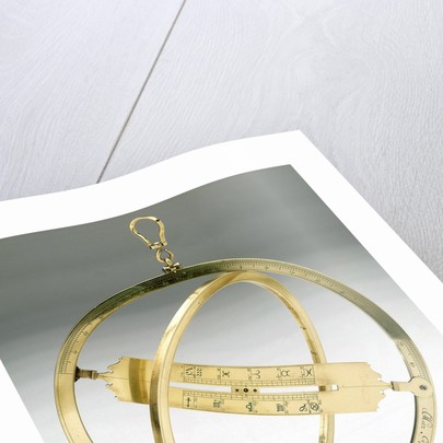 Universal equinoctial ring dial by Coenraad Metz