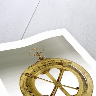 Universal equinoctial ring dial by Nicolas-Eloi Baradelle