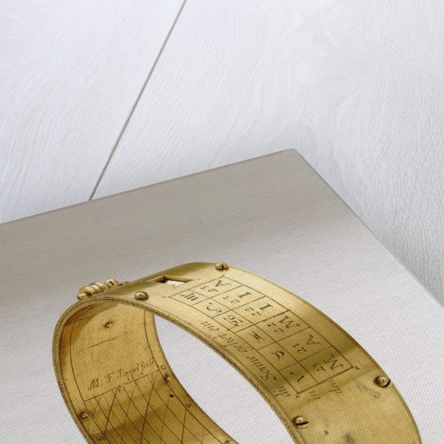 Ring dial by M.F. Poppel
