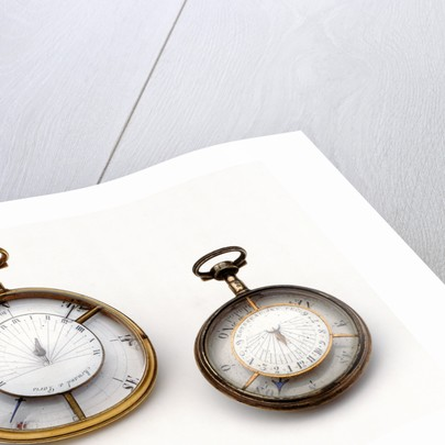 Compass dial, reverse by Rousseau
