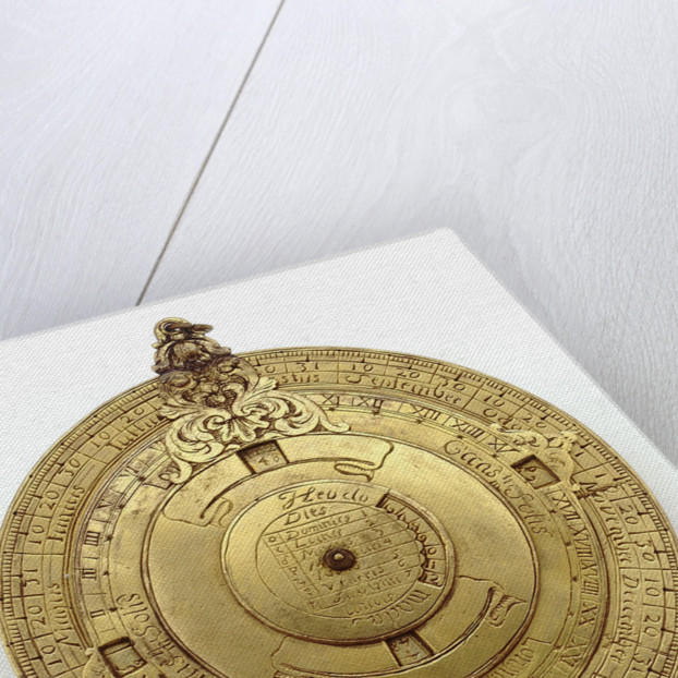Vertical disc dial by unknown