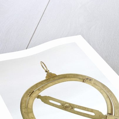 Universal equinoctial ring dial by Joseph Linnell