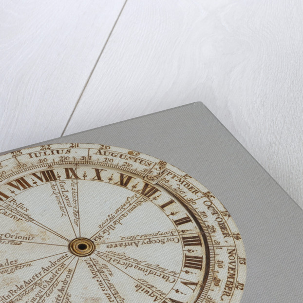 Universal equinoctial ring dial by Thomas Heath
