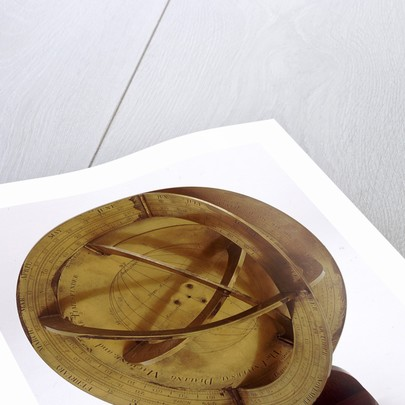 Universal equinoctial dial and armillary trigonometer by James Ferguson